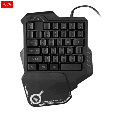 Gaming Keypad Wired One-Handed For You