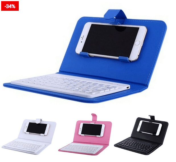Mini Keyboard Wireless Smartphones Cover For You